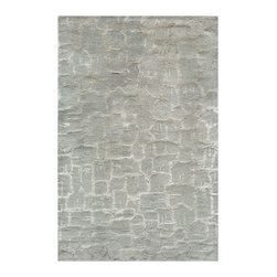 Momeni - Zen Collection Seafoam - ZEN-1 - Rugs by Momeni - Inspired by all things tranquil Zen is an elegant collection of hand-tufted rugs, with rich bamboo silk highlights enhancing their quiet appeal and making a graceful addition to any decor. 100% wool