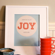 always be full of joy in the Lord 8x10 print by recipeforcrazy