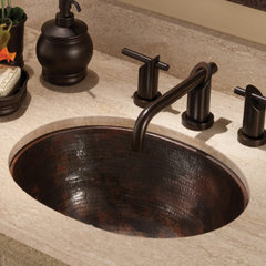 traditional bathroom sinks by Native Trails
