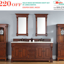 Trendy Transitional Bathroom Vanities: James Martin's Brookfield Collection - Trendy Transitional Bathroom Vanities: James Martin's Brookfield Collection - http://www.homethangs.com/blog/2014/09/trendy-transitional-bathroom-vanities-james-martins-brookfield-collection/