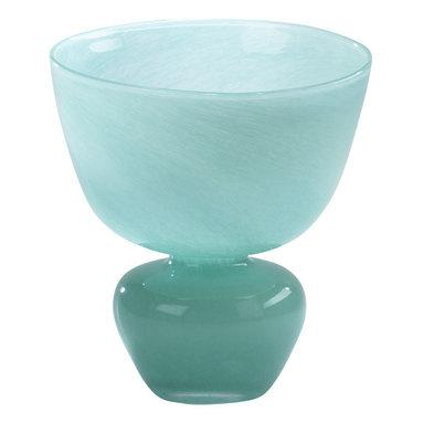 Cyan Design - Turquoise Bowl Vase - Turquoise bowl vase - turquoise