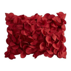 Petals Pillow, Terra-Cotta