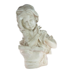 Casa de Arti - Statue of Girl Reading a Book - Beautiful Statue of a little girl reading a book, perfect for any Home library at an amazing price!