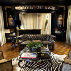 Eclectic Living Room by Brooke Roberson Creative