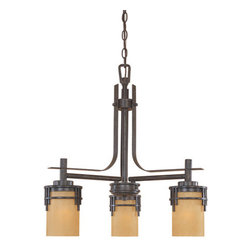 Designers Fountain - Designers Fountain 82183 Asian Three Light Down Lighting Chandelier from the Mis - Features:
