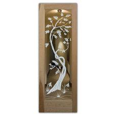 Tropical Front Doors by Sans Soucie Art Glass