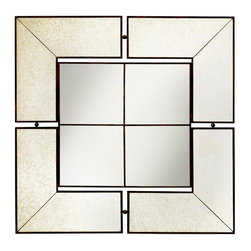 Kichler - Glenn Antique Silver Wall Mirror - 30W x 30H in. - 78130 - Shop for Bathroom Mirrors from Hayneedle.com! About KichlerKichler designers travel the world to discover the latest trends in exterior and interior style colors and designs. They then translate the best of those trends into fixtures that will bring beauty pleasure and light into your home. Kichler fixtures stand the test of time and are functional works of art that you're sure to treasure.