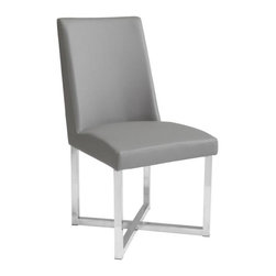 Dining Chair, Grey - Dining Chair