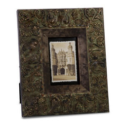 Bird and Scroll Design 4 x 6 Photo Frame - *Charleston 4 x 6 Frame.