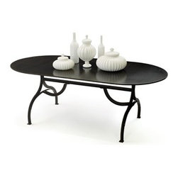 """Go Home - Communal Dining Table - Dimensions: 7' L x 39.5"""" D x 30"""" H"""