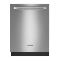 """KitchenAid - Architect Series II KDTE104DSS 24"""" Fully Integrated Dishwasher with 14 Place Set - KitchenAid dishwashers score high in performance testing KitchenAids advanced approach to clean dishes is enhanced by the ProWash cycle which optimizes water and energy use for effective cleaning This dishwasher has 14 place settings and6 wash cycles..."""