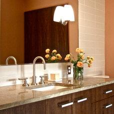 Contemporary Bathroom by Debra Herdman Design