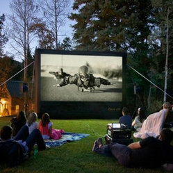 Open Air Cinema 12 ft. CineBox Home Theater System