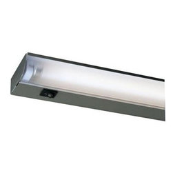 Juno - Juno 34 in. UnderCabinet Economy Fluorescent Silver UFL34-SL - Shop for Lighting & Fans at The Home Depot. The Juno Economy Fluorescent 34 in. silver fixture offers cool, energy-efficient operation for undercabinet and shelf lighting. Its compact, low-profile housing tucks out of sight beneath cabinetry and provides bright, shadow-free illumination for kitchen countertops and other work surfaces around the home or office. Featuring a high-quality metal housing, wraparound diffusing lens, and T5 fluorescent tube, this fixture offers up to 50% greater surface illumination than other light sources. Energy Star certified.