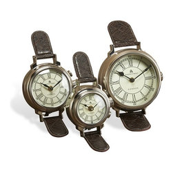 Interlude - 49 Bond Street Watch Clocks - These whimsical table top watches are sure to catch everyone's attention.