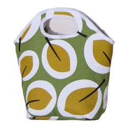 """Picnic Plus - Zesty Lunch Bag, Aspen - Picnic Plus Zesty Insulated Lunch Bag, Aspen. Color/Design: Aspen; Fully insulated tote with an easy to clean leak proof liner; Zippered top closure helps to maintain food and beverage temperatures for many hours; Hidden pocket makes monogramming simple without damaging the lunch bag; Be eco conscious by using our Zesty Lunch bag for work or school. Dimensions: 12""""W x 4 1/2""""D x 12""""H"""
