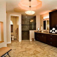 Traditional Bathroom by Yoder Homes