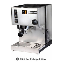 Rancilio - Silvia Espresso Machine - The Rancilio Silvia Espresso and Cappuccino machine has been a leader in its class for over seven years for good reason. Rancilio took their experience in manufacturing some of the finest commercial machines available and put it to work to offer a high quality machine for the home user at an affordable price. Precision manufacturing and the highest quality materials all come together to bring you a machine with a proven track record of dependable home service. Adding numerous improvements for the current model only made the best even better! It's no wonder that the Rancilio Silvia has become the gold standard against which other home espresso machines are judged.