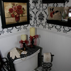 Traditional Bathroom by The Staging Pros