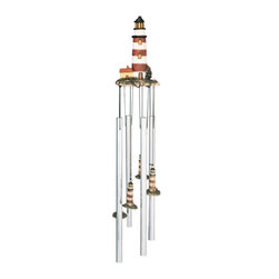 GSC - Round Top Wind Chime Lighthouse Assateague Hanging Garden Decoration - This gorgeous Round Top Wind Chime Lighthouse Assateague Hanging Garden Decoration has the finest details and highest quality you will find anywhere! Round Top Wind Chime Lighthouse Assateague Hanging Garden Decoration is truly remarkable.
