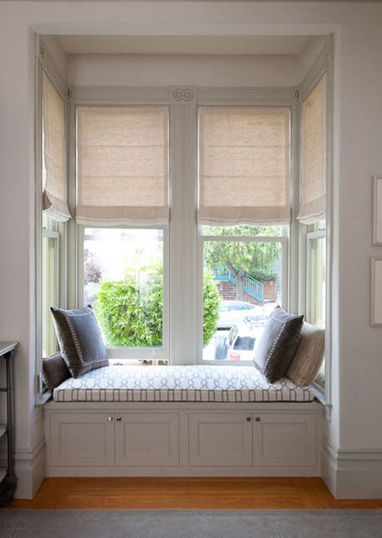 Traditional Roman Blinds by Stitch Custom Furnishings