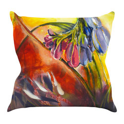 """Kess InHouse - Kristin Humphrey """"Progression"""" Throw Pillow (26"""" x 26"""") - Rest among the art you love. Transform your hang out room into a hip gallery, that's also comfortable. With this pillow you can create an environment that reflects your unique style. It's amazing what a throw pillow can do to complete a room. (Kess InHouse is not responsible for pillow fighting that may occur as the result of creative stimulation)."""