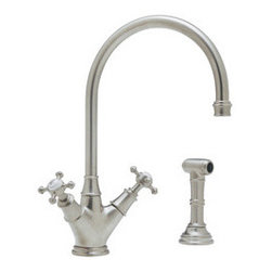ROHL Perrin & Rowe Single Hole Kitchen Faucet - Product Number: U.4707X
