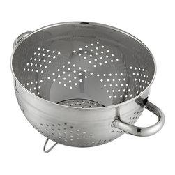 Kraus - Kraus SP-1 Stainless Steel Colander - Kraus Colander is an ideal addition to your kitchen sink