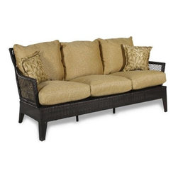 Agio Sydney II Woven Sofa - I think this sofa would be a good place for a little nap on the patio — I've been known to take a nap or two on the patio!