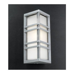 PLC Lighting - PLC Lighting PLC 8020 Single Light Outdoor Wall Sconce from the Trevino Collecti - PLC Lighting PLC 8020 Contemporary / Modern Single Light Outdoor Wall Sconce from the Trevino CollectionSince 1989, PLC Lighting, Inc. has continued to provide our customers with both contemporary and traditional lighting fixtures in a multitude of styles. Their products can be found in showrooms throughout North, Central and South America, as well as the Caribbean Islands. They furnish the finest residences, hotels, restaurants, and office complexes all over the world.Features: