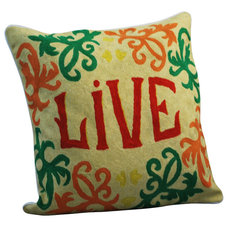 Transitional Decorative Pillows by Modelli Creations