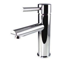 Fresca - Fresca FFT1040CH Tartaro Single Hole Mount Bathroom Vanity Faucet - Chrome - Fresca FFT1040CH Tartaro Single Hole Mount Bathroom Vanity Faucet - Chrome