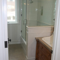 traditional showers by Core Development Group, Inc.