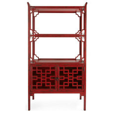 Asian Bookcases by Horchow