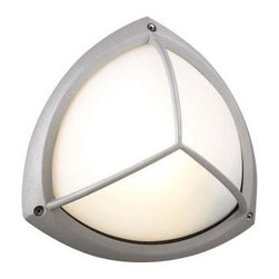 PLC Lighting - PLC Lighting Outdoor Lighting. 1-Light Outdoor Silver Wall Sconce with Frost Gla - Shop for Lighting & Fans at The Home Depot. Contemporary Beauty is a line of quality new age fixtures that appeal to your more affluent side. This line is sure to universally please by offering fixtures with halogen, CFL, or standard incandescent bulbs. With a selection that ranges from unique wall sconces to luxuriant chandeliers, available in the lamp options you desire, Contemporary Beauty has the variety and style to ensure you will find the perfect fixture to showcase the allure of any room.