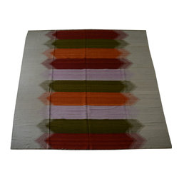 1800-Get-A-Rug - Oriental Rug Hand Woven Durie Kilim Sh10563 - About Flat Weave