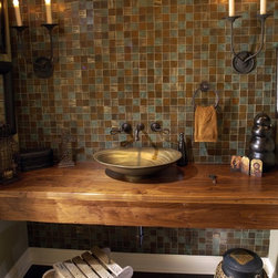Mediterranean Bathroom Countertops -