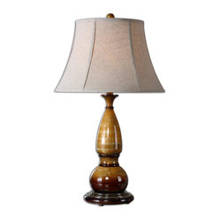 Algona Honey Gold Lamp