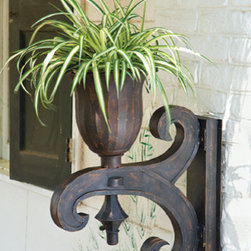 Salisbury Urn and Bracket - I saw this and thought it was a really unique looking outdoor planter. I love that it's not hulking in size but big enough to be a standout. It really does have an antique feel to it that would go great with an older Victorian or Arts and Crafts house but could also contribute to a more eclectic decor.