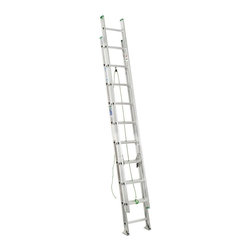 Werner - Werner D1220-2 20 ft .Aluminum Extension Ladder Multicolor - 3721-5514 - Shop for Ladders from Hayneedle.com! Let the Werner D1220-2 20 ft. .Aluminum Extension Ladder help you get the job done. Its heavy duty yet lightweight aluminum construction makes it easy to get to any job site while its rope and pulley system makes for easy extension once you get there. Traction Tred D-rungs offer sure footing while Alflo technology offers twist-free and stable use.About WernerWerner is an industry leader that has manufactured and distributed ladders and climbing equipment for over 60 years. Werner ladders are found on more trucks and job sites than all other brands combined. Each product offers a state-of-the-art design and manufacturing process creating professional-grade products that are made to be utilized in the home as well as on the job site. Werner Co. products are built to meet or exceed all applicable American National Standards Institute (ANSI) and Occupational Safety and Health Administration (OSHA) code requirements.