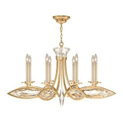 Fine Art Lamps - Fine Art Lamps Marquise 843940-22ST Eight-Light 42'' Wide Grand Chandelier - Fine Art Lamps' artistic heritage began in the glass making factory founded by Max Blumberg in New York in the late nineteenth century. In 1940 his son Jack Blumberg gathered the finest designers sculptors and decorative artists to fulfill their vision of becoming the premier lighting manufacturer in the world and Fine Art Lamps was born. From the beginning Fine Art Lamps has achieved a high artistic standard by creating unique and original lighting designs of beautifully handcrafted metal hand-blown glass and other unique materials with exquisite hand applied finishes. In all Fine Art lamps represents the singular vision of over 700 skilled designers artists craftsman and associates working together in five plants totaling over 400000 square feet to create unique works of art for the international design community. An American Manufacturer with International AppealFine Art Lamps has a global market and universal design appeal. From its' Florida facilities Fine Art Lamps lighting travels to every corner of the world destined for the finest homes villas palaces hotels and public spaces.Fine Art Lamps has expertise in foreign wiring requirements covering every continent and customers rely upon the company's International Product Specification Brochure for accurate measurements weights and technical specifications.