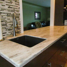 Modern Kitchen Countertops by Michelle Yaworski – Gem Cabinets Ltd