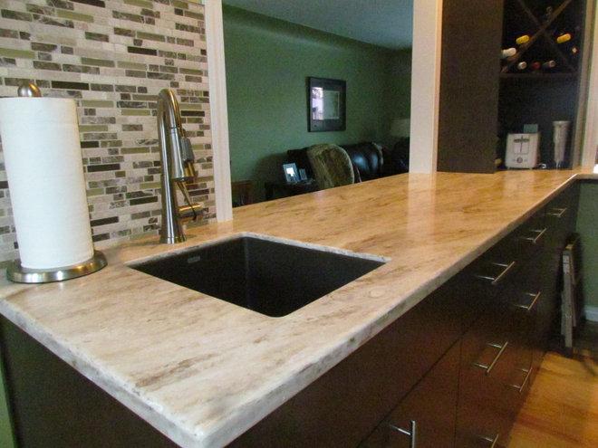 Modern Kitchen Countertops by Michelle Yaworski – Gem Cabinets Ltd