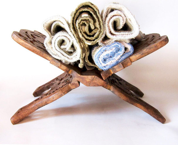 Traditional Towel Racks & Stands by La Roux Vintage