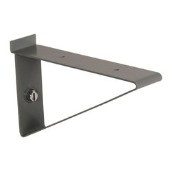 "Storewall - Heavy Duty Bracket, 10"" - Brackets are designed for maximum support and performance. They are ideal for high load capacity shelves and brackets for totes.StoreWALL brackets can hold approximately 100 pounds per bracket, more than you'll ever need."
