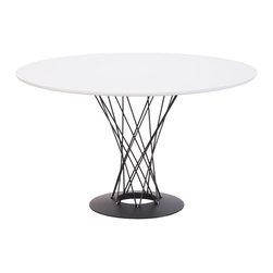 Zuo Modern - Zuo Modern Spiral Modern Dining Table X-040011 - Zuo Modern Spiral Modern Dining Table X-040011