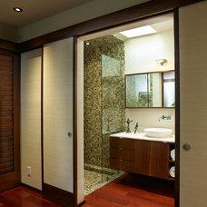 Contemporary Bathroom by Toro-Lombardo Design Build