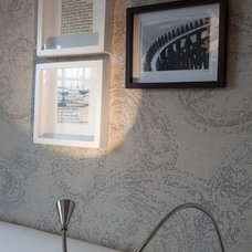 Modern Wallpaper by MH INTERIORS by Magdalena Hopkins