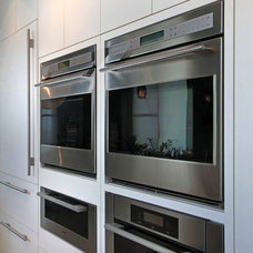Contemporary Ovens by Eurotech Cabinetry Inc.