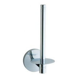 Smedbo STUDIO Paper Holder NK320 - Spare Toilet Roll Holder. Meant for one roll. Concealed fastening. Height 7""